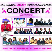 2nd Annual Breast Cancer Awareness Concert