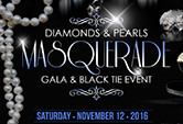Diamonds & Pearls Masquerade Event